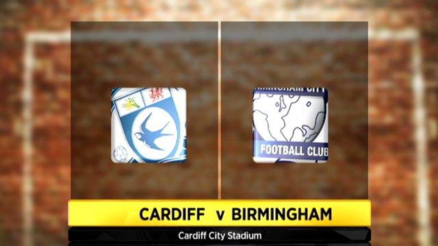 Cardiff 1-0 Birmingham