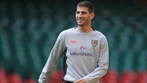 Wales International striker Ched Evans