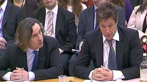Steve Coogan and Hugh Grant