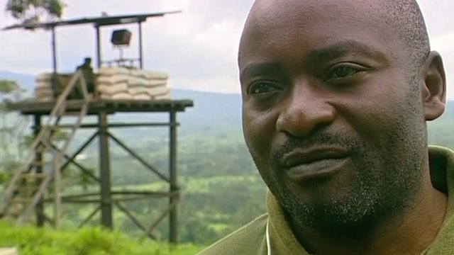 Ephraim Balole, Park ranger