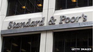 The Standard and Poor&#039;s sign