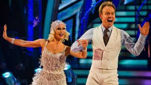 Kristina Rihanoff and Jason Donovan