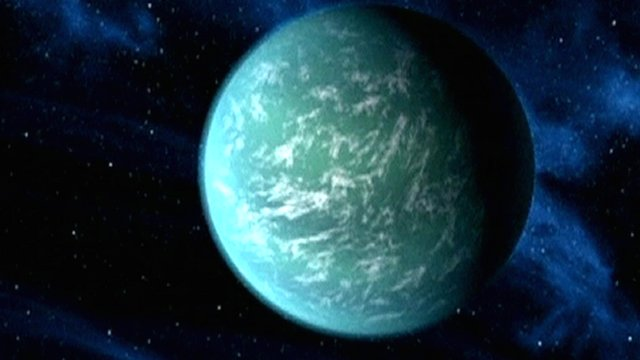 Kepler 22-b artist rendition