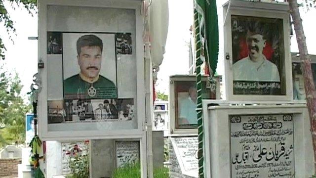 Shia Muslim graves