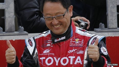 Toyota Motor Corporation President and Chief Executive Akio Toyoda