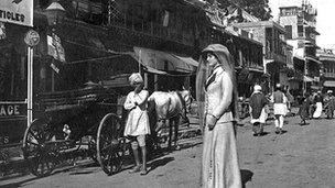 Lilah Wingfield in India