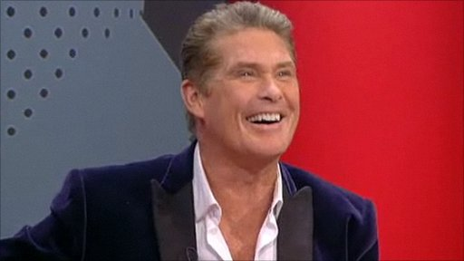 Actor David Hasselhoff was interviewed on Points West by