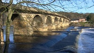 Bridge over the Tyne at Hexham