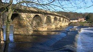 Bridge over the Tyne at Hexham