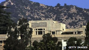 Ennis House in Los Angeles