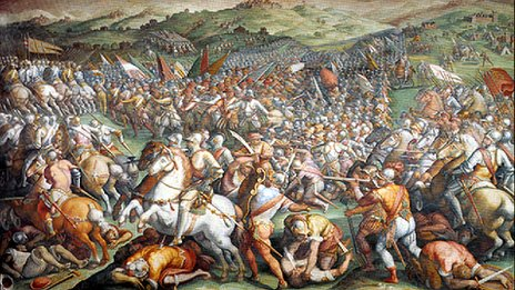 Giorgio Vasari's The Battle of Marciano