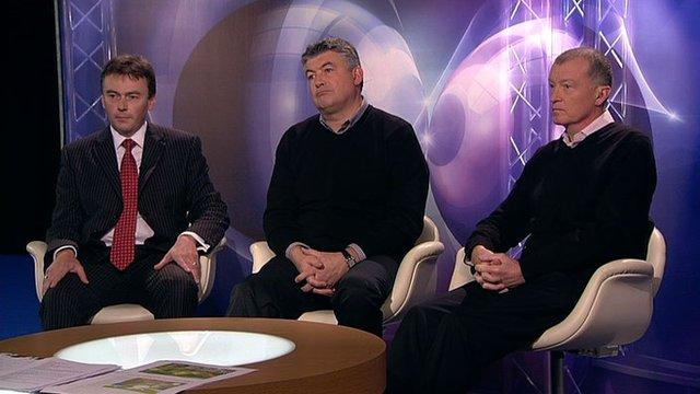Jason Ferguson, John Parrott, Steve Davis