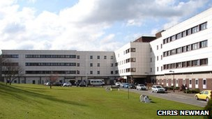 Dumfries Infirmary - Picture by Chris Newman