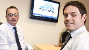 Dave MacKay, left, and Simon Rio of PD&MS