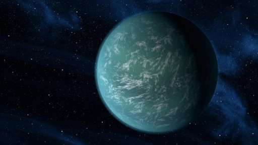 Artist's impression of the planet  Kepler 22-b