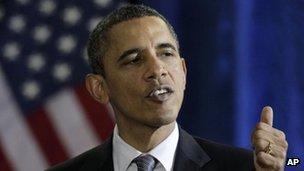 US President Barack Obama 6 December 2011