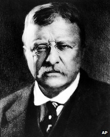 Theodore Roosevelt undated file picture