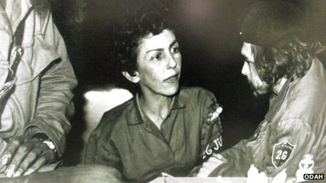 Celia Sanchez and Che Guevara