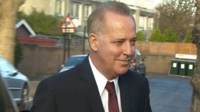 Michael Barrymore arrives at court
