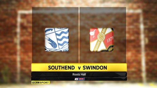 Southend 1-2 Swindon