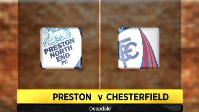 Preston 1-1 Chesterfield (2-4 pens)