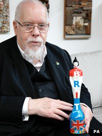Sir Peter Blake  and Brit award
