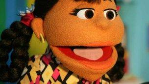 Sesame Street character Rani