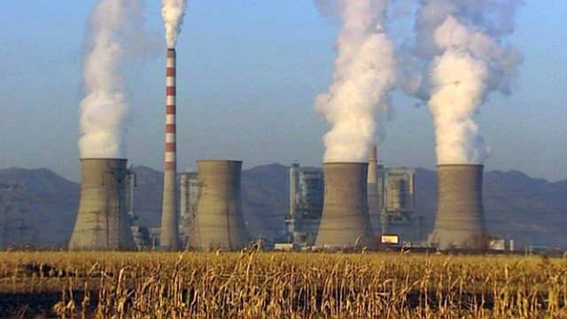 Power station in China