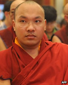 The Karmapa Lama in November 2011