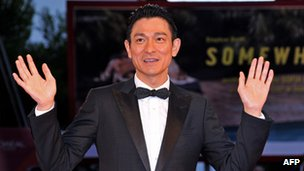 Andy Lau, pictured on 5 September 2010