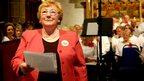 Opera singer Barbara Kendall Davies