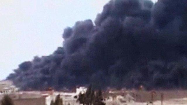 Syria fire