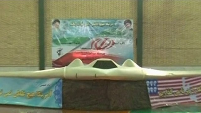 Drone as shown on Iraninan state TV