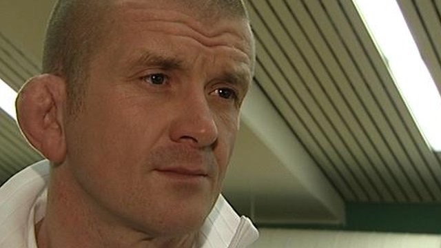 England scrummaging coach Graham Rowntree