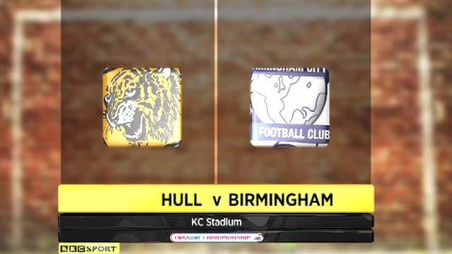 Highlights - Hull 2-1 Birmingham