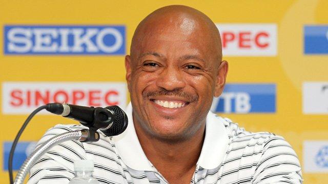 2000 Olympics 100m winner Maurice Greene