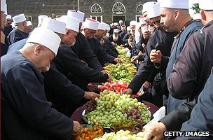 Druze on a pilgrimage
