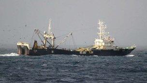 Trawler (c) Nerc
