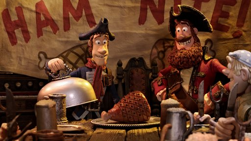Screenshot from The Pirates! movie