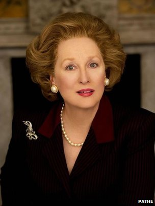Meryl Streep as Mrs Thatcher