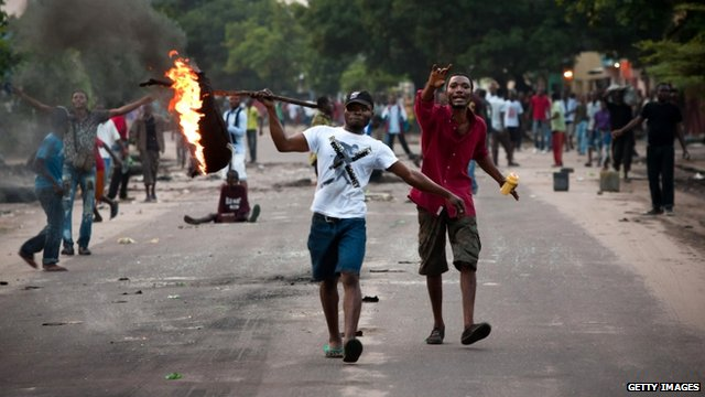 Unrest in Kinshasa