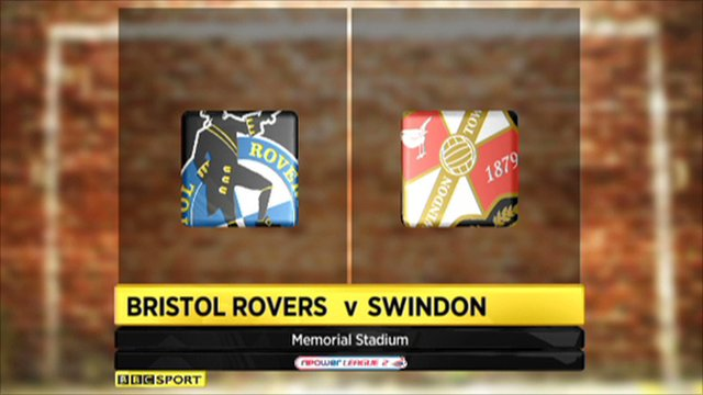 Bristol Rovers 1-1 Swindon