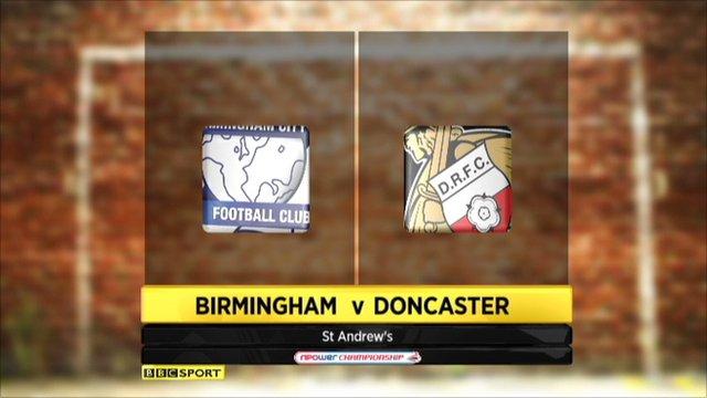 Birmingham 2-1 Doncaster