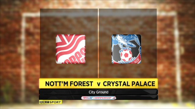 Nott'm Forest 0-1 Crystal Palace