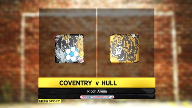 Coventry 0-1 Hull