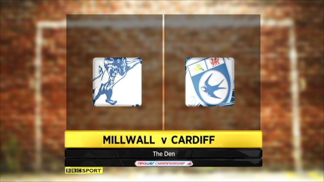 Millwall 0-0 Cardiff