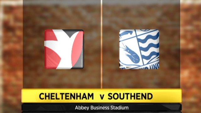 Highlights - Cheltenham 3-0 Southend