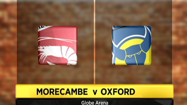 Morecambe 0-0 Oxford Utd
