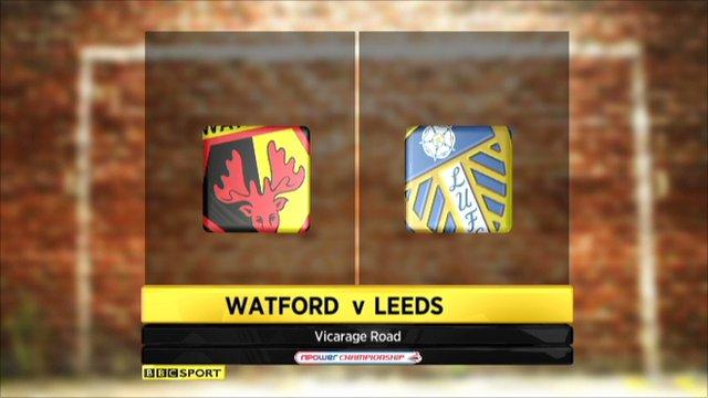 Watford 1-1 Leeds