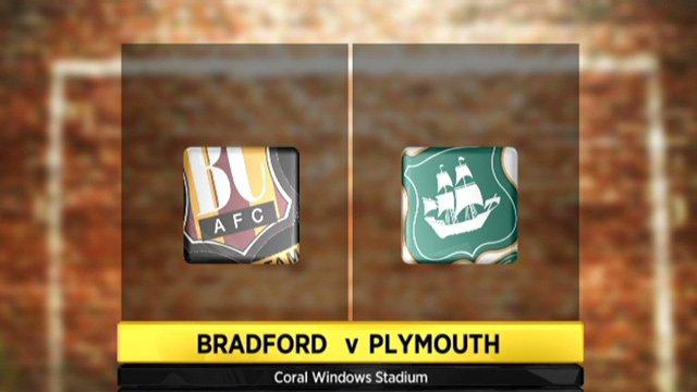 Bradford 1-1 Plymouth